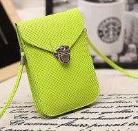 New Leather Mini Cross-body Messenger Bag Purse Shoulder Bag Mobile Phone Bag cute Wallet