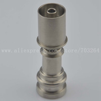 D-Nail V1.2 Head hybrid enail/e-nail Titanium Domeless 20mm E-nail Nail Gr2