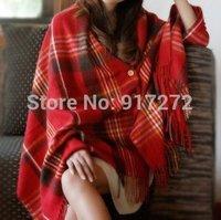 New Autumn & winter warm scarfs Women's scarfes Plaid pashmina Scarf /lady cashmere Shawl/tassels Scarves plus size 200*70cm