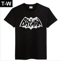 TUSDMS005  mens t shirts fashion 2015, BATMEN t shirt men, 4design 5 colours ,size M to XXXL  free shipping