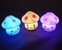 Mushroom villain lights colorful night light LED creative gifts Toys Atmosphere Lamp
