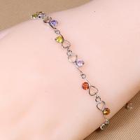 B-0030,Pulseiras femininas Bracelets pulsera oso Bijoux jewelry with zircom fashion Bracelet for women jewelry Wholesale