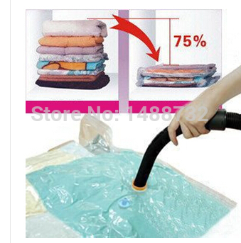 2014 free shipping vacuum storage bag / vacuum compression bags of space dust-bacterial factory direct Organizers(China (Mainland))