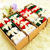 Winter Thicken Coral Fleece Socks Cute Christmas Socks Warm Sleeping Socks for Woman
