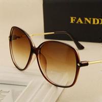 Brand Women Sunglasses Wholesale Oversize Style Coating Lens Fashion Glasses Metal frame Sunglass Oculos de Sol Feminino S252