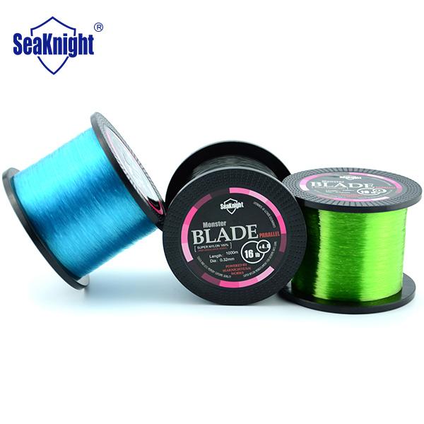 Seaknight marca a melhor qualidade 1000 M monofilamento de Nylon linha de pesca fio de linha de pesca Material do japão Jig carpa peixe NT30(China (Mainland))