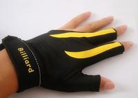 Freepost 10pcs/lot billiard snooker gloves high elastic gloves billiard snooker accessories