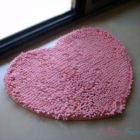Free shipping Love heart mat carpet,Bedroom Living room Mat. 50cm*60cm bath mats,Home Decor Door home mat
