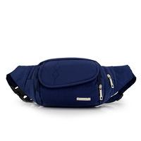 Nylon Passport Waist Bag for Men Travel Bags Chest Fanny Pack Money Belt Bag Waist Shoulder Pouch Outdoor Bum Bag Waterproof
