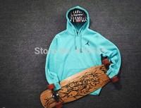 Original men women skateboard AJ fleece pullovers sweatshirt with a hood winter basketball sports jordan  hoodies with velvet