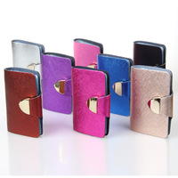 Free shipping Fashion PU Genuine Leather Credit Business Contacts Credit Card ID Holders Wallet Promotion Gift Wholesale TB1057