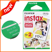 New Packing Fujifilm Instax Mini Film (20 sheets) White Edge Instant Photo for Camera Mini 7s 8 25 50s 90 Valid Time to 2016