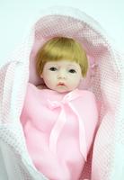 28 cm Infant baby toy girl gift gender sleeping bag doll hot-selling