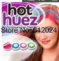 120set/lot HotSale Girl Women Temporary Hair Chalk Pink Blue Fuchsia Green 1 Set of 4 Colors free shipping EMS