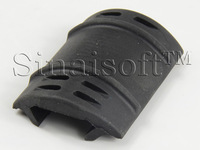 UTG Type  Plastic Rubber Handguard Cover for Tactical Picatinny Free Floating Drop-in Quad Rail Tri-rail System Handguard
