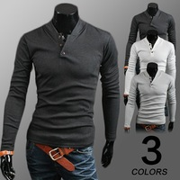 New 3 Colors 2015 New Fashion long Sleeve male Polo Ralph Men Cotton Casual Breathable Fitness Boss Men Polo Shirts