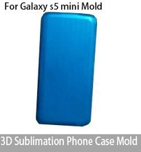 3D Sublimation Phone Case Mold For Galaxy S5 Mini Heat transfer Phone Case Mould
