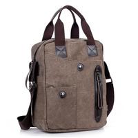 New arrive simple casual Men's messenger bags vintage canvas Outdoor hiking famous brand travel bags business bag handbags