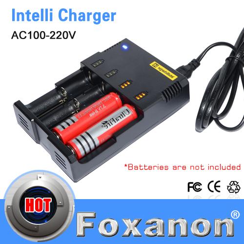 100% Original Nitecore i4 Intellicharge Universal Battery Charger Intelligent charging PowerIQ design for 18650 14500 AA AAA(China (Mainland))