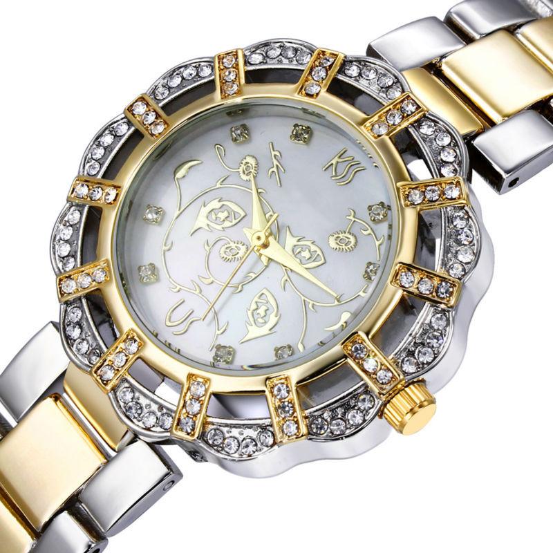 DC1989 New Women Rhinestone Quartz Wrist Watches Czech Crystal Japan Miyota Movement Crystals Index Water Resistance Zinc Alloy(China (Mainland))