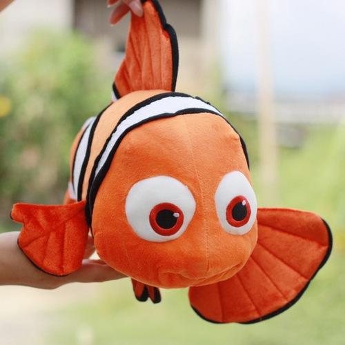 Cartoon Memo toy Finding Nemo Plush Movie & TV Cute Clown Fish Stuffed Animal toys Soft Dolls fish plush 23cm/40cm for choosing(China (Mainland))