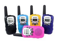 2PCS Mini Portable Radio Kids Walkie Talkie Retevis RT-388 UHF 0.5W 22CH LCD Display Flashlight VOX Two way Radio  A7027Z