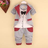 New autumn autumn suit children's wear children, pure cotton boy two-piece, fashionable small suit
