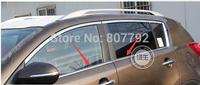 For  Kia sportage 2011 window trims  4pcs