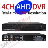 960H DVR 4CH AHD DVR real-tim 720P AHD CCTV DVR