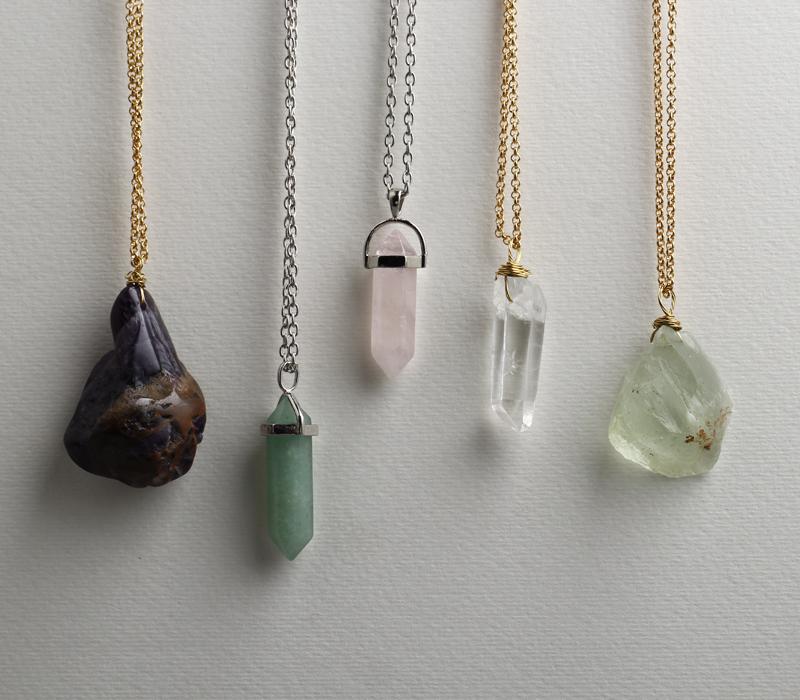 Quartz Crystal Jewelry Crystal Quartz Pendant