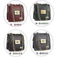 New arrival chains brand fashion bag women messenger bags lady cross body bag free shipping