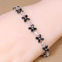 B-0031,Make rubber band Bracelet pulseras hombre Bijoux jewelry with zircom fashion Bracelet for women jewelry Wholesale