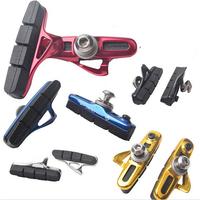 WBP-14 Road Bike Drawer Type C Brake Pads Rubber Replaceable Folding Brake Blocks Free Shipping