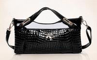 2014 brand new fashion HOT Women Clutches Evening Bags Crocodile Bow Fashion Multifunction Small Messenger Bag Handbag Bolsa