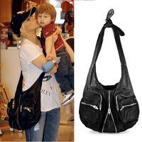 Fashion king alexander ! large capacity vest bag women's genuine leather  handbag shoulder bag messenger bags intage straps bag