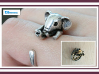 10pcs Wholesale Free Shipping Cute Animal Ring Pig Ring For Gift , DR055