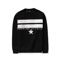 2015 GIV hip hop GVC Stripe Star mens cotton pullover