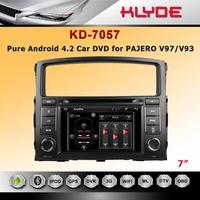 Pure android 4.2 OS DVD GPS navi for Pajero V97/ V93 2006 -2011 with DVR Cortex car stereo radio