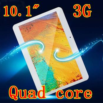 10.1 pouces. quad. noyaux 1280x800 4gb ddr ram 32gb 3g caméra wifi carte sim bluetooth tablet pc comprimés, pcs android4.4 7 8 9