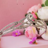 Bride rhinestone hair accessory crownpiece marriage accessories wedding accessories