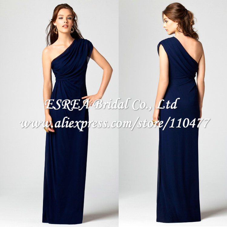 Image Result For Long Navy Blue Dress For Wedding