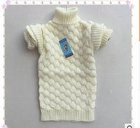New winter ZhongTong girls aged 6-10 brought the sweater