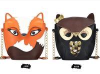 owl fox designer women messenger bags women handbags women bags famous brands high quality bolsas femininas 2014 bolsos mujer