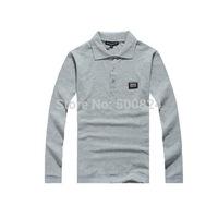 Hot New High quality Dolc Men's   Collar Fashion Sport T-Shirt Long sleeve Tee Shirt  @1