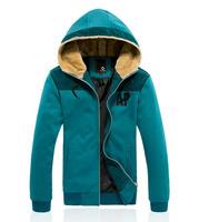 TOP quality mens hoodies and sweatshirts winter fleece coat outwear 3 colors M L XL XXL XXXL