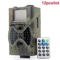 12pcs / lot wholesale Suntek 940NM IR outdoor animals scouting hunting camera Free Shipping