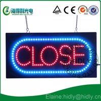 NEW!LED CLOSE neon letter sign /led acrylic sign /led window sign/DC12V energy saving led mini display