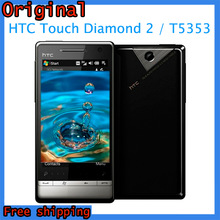 """Touch Diamond 2 Original HTC Touch Diamond2 T5353 Windows Mobile 6.5 3.2""""TouchScreen Wifi A-GPS Cell Phone Free Shipping"""