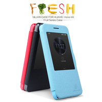 Genuine Brand New NILLKIN Flip Leather Fresh Wallet Cover Case Skin Back Cover For HUAWEI Honor 4X