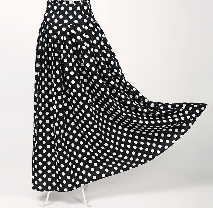 Online kopen wholesale maxi rok patroon uit china maxi rok patroon groothandel - Te vangen zwart wit ontwerp ...
